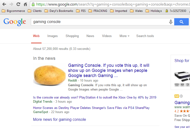 Potato gaming console on reddit US